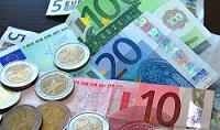 Briefgeld muntgeld geld euro betalen