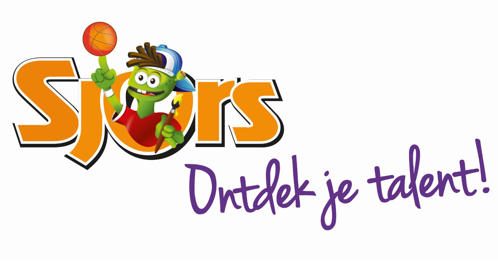 Logo Sjors ontdek je talent!