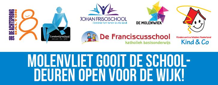 Afbeelding open scholen route